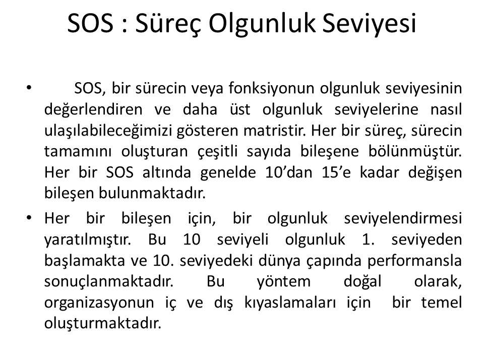 SOS : Süreç Olgunluk Seviyesi
