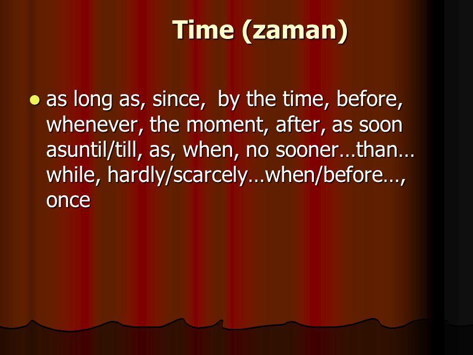 Time (zaman)