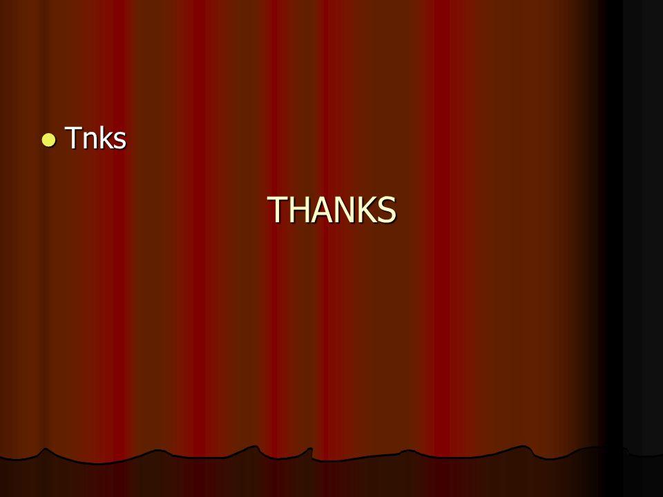THANKS Tnks