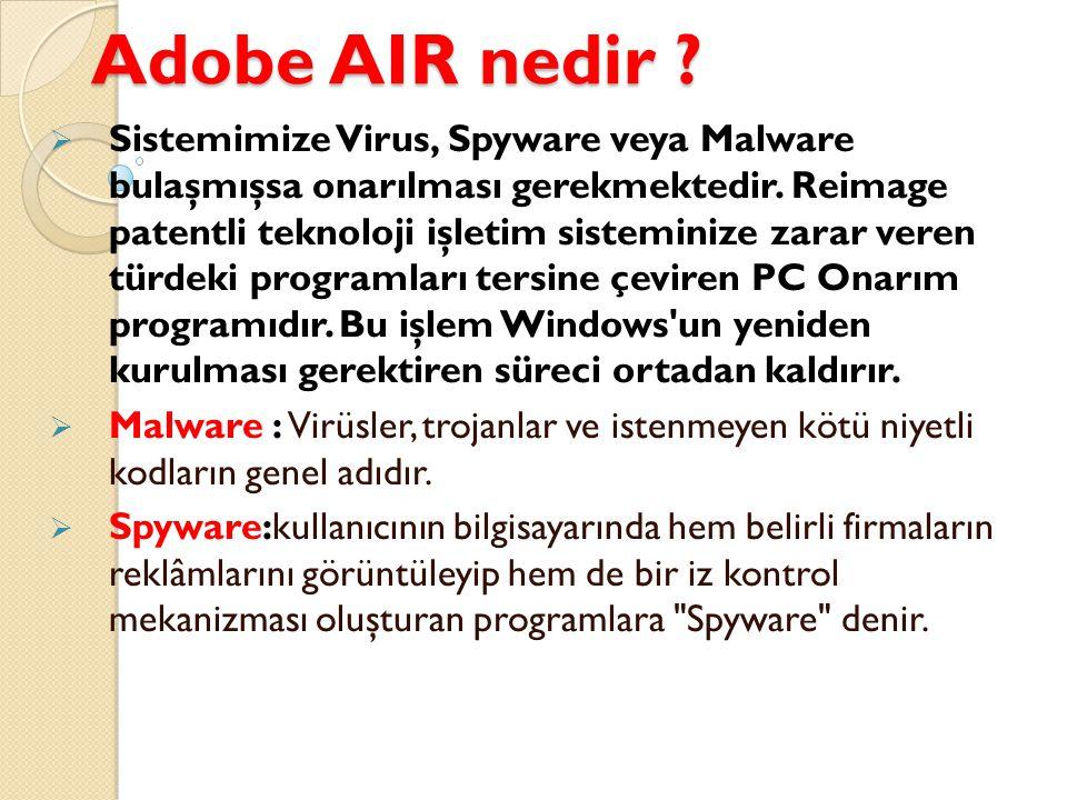 Adobe AIR nedir