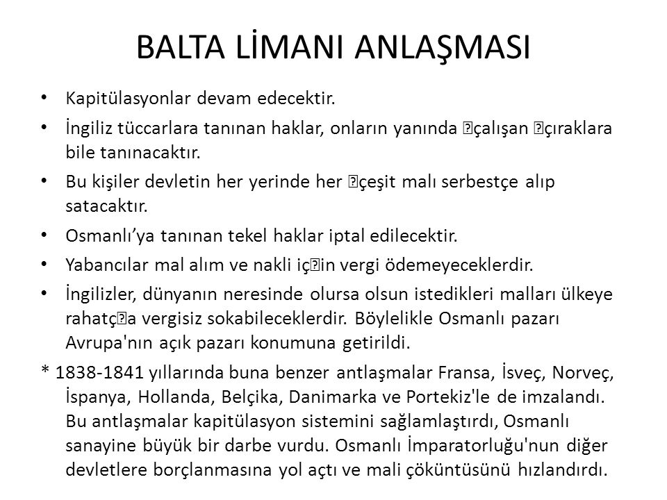 BALTA LİMANI ANLAŞMASI