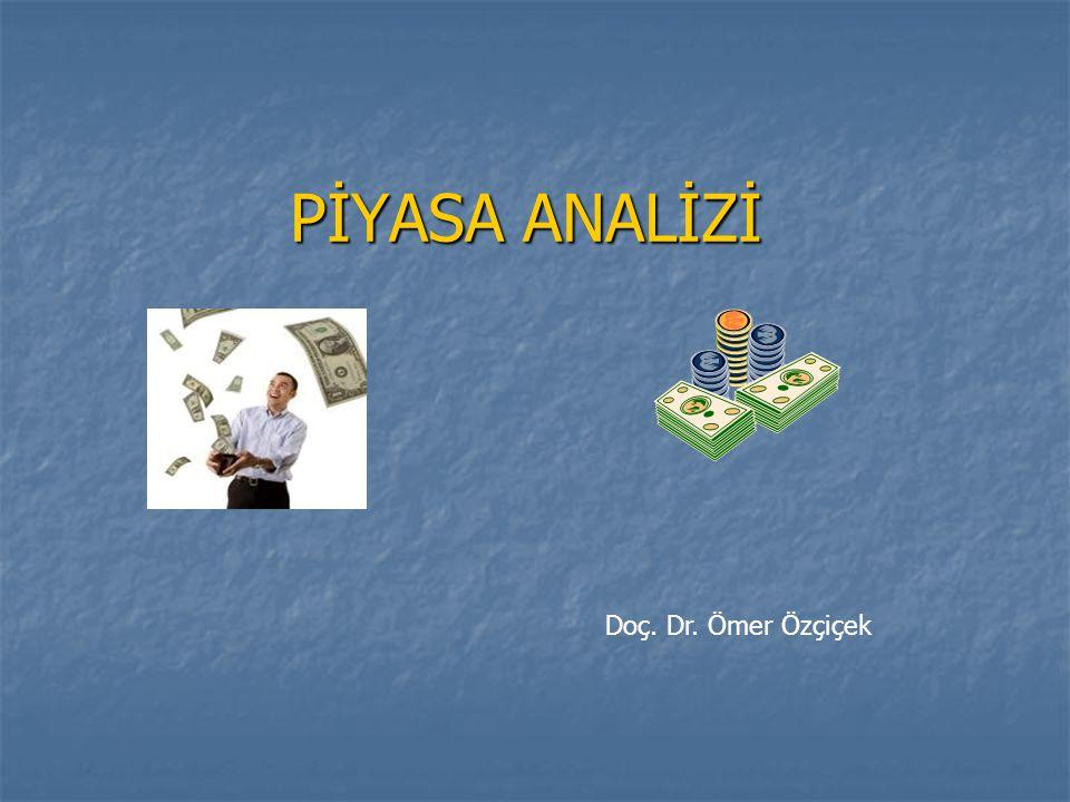 PİYASA ANALİZİ Doç. Dr. Ömer Özçiçek