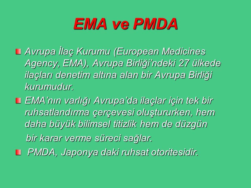EMA ve PMDA
