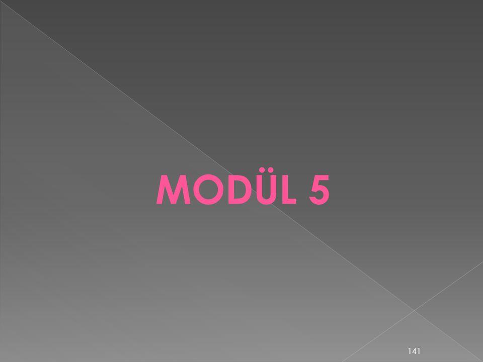 MODÜL 5