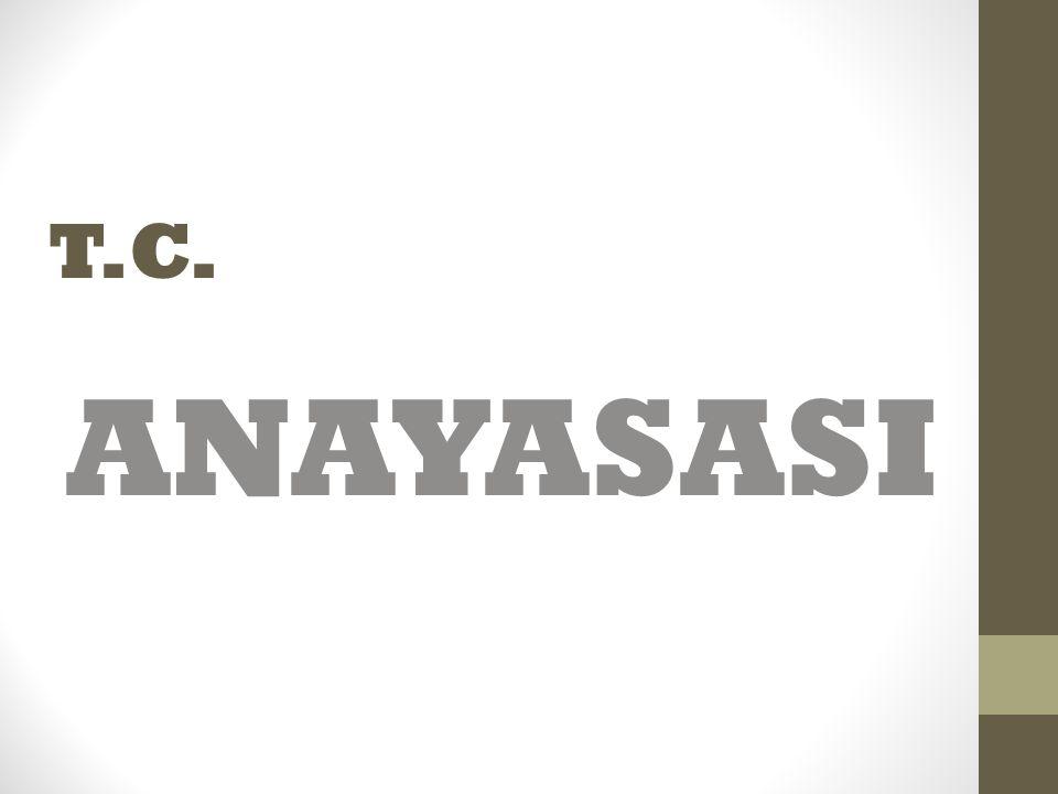T.C. ANAYASASI