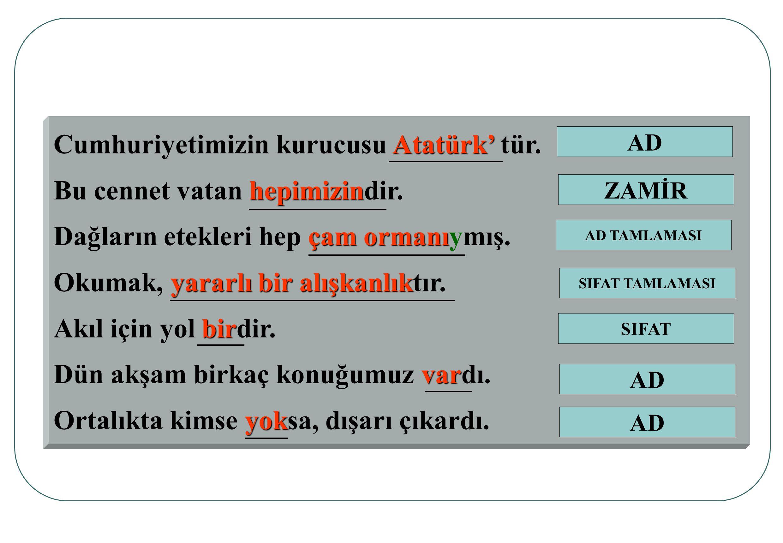 Cumhuriyetimizin kurucusu Atatürk' tür. Bu cennet vatan hepimizindir.