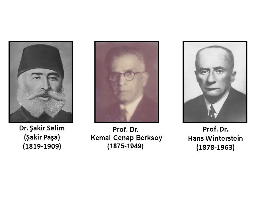 Dr. Şakir Selim (Şakir Paşa) (1819-1909)