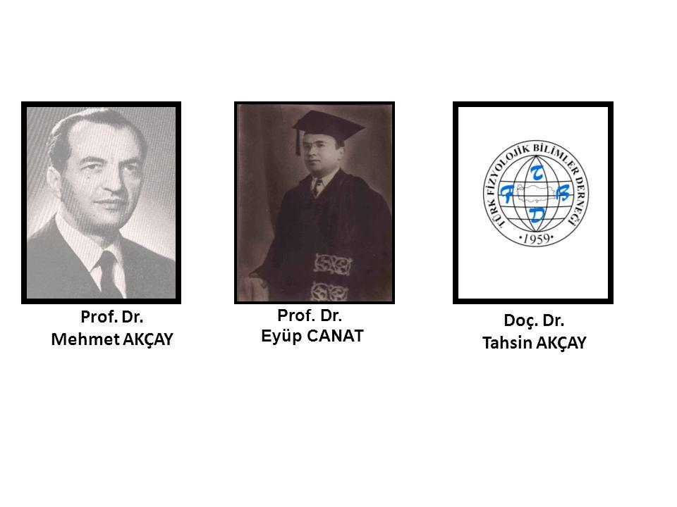 Doç. Dr. Tahsin AKÇAY Prof. Dr. Mehmet AKÇAY