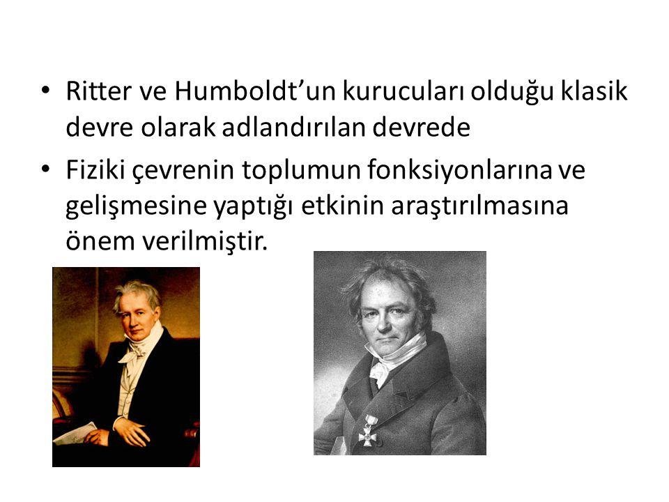 Ritter ve Humboldt'un kurucuları olduğu klasik devre olarak adlandırılan devrede