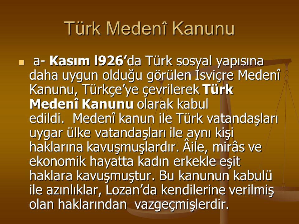 Türk Medenî Kanunu