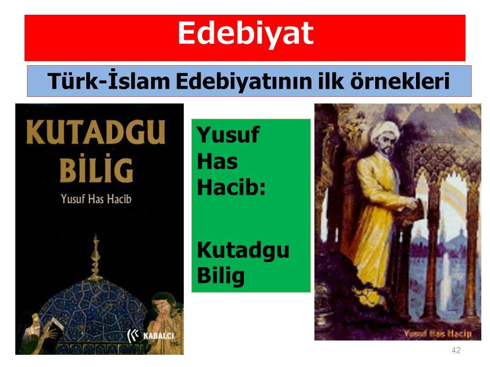 Türk-İslam Edebiyatının ilk örnekleri