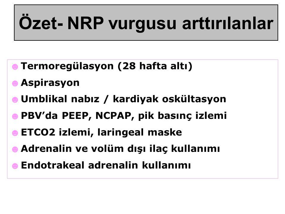 Özetle 2010 NRP'deki yenilikler