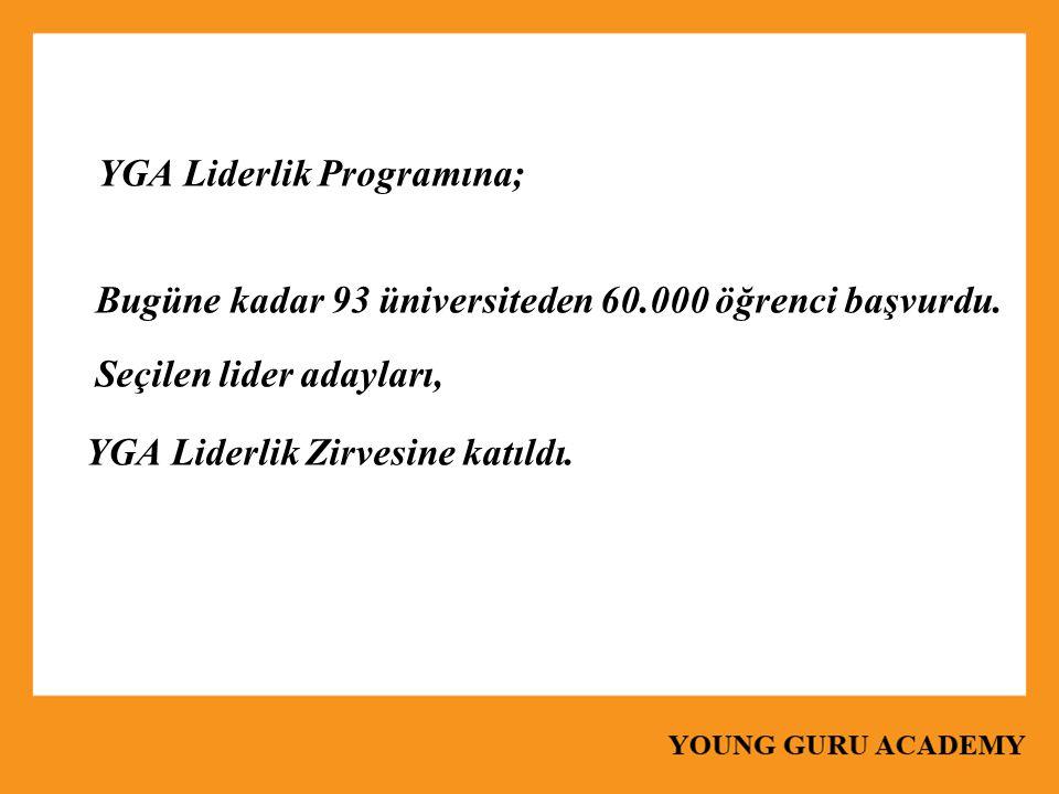 YGA Liderlik Programına;