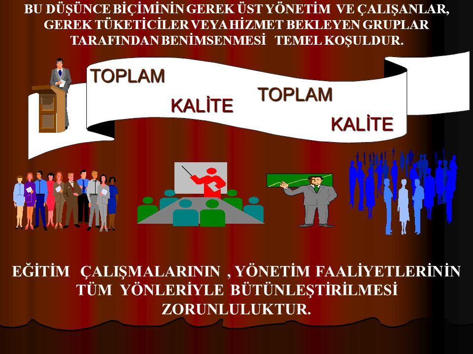 TOPLAM TOPLAM KALİTE KALİTE