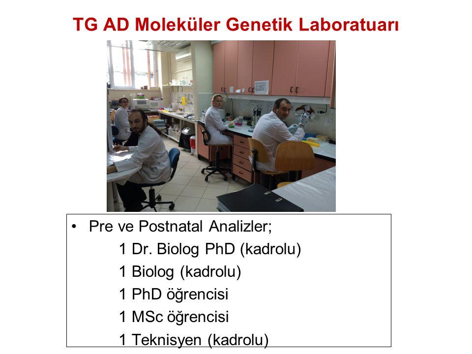 TG AD Moleküler Genetik Laboratuarı