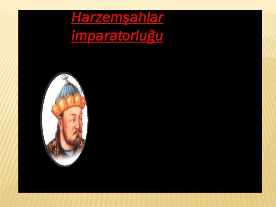 Harzemşahlar imparatorluğu