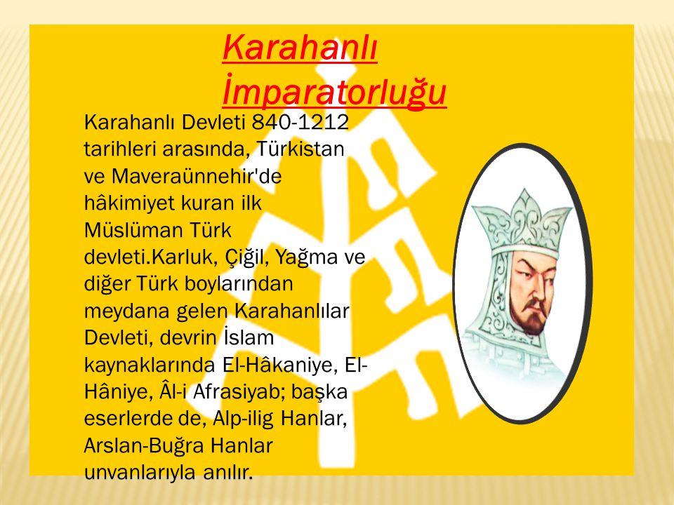 Karahanlı İmparatorluğu