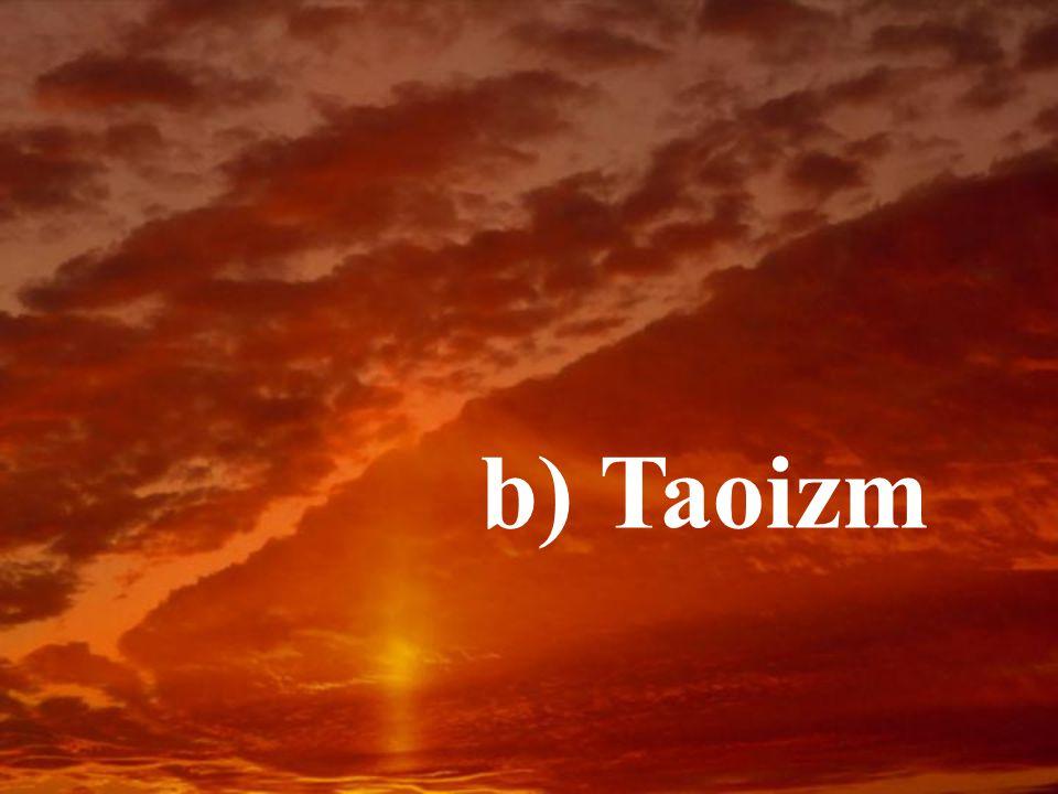 b) Taoizm