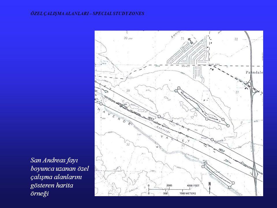 ÖZEL ÇALIŞMA ALANLARI – SPECIAL STUDY ZONES