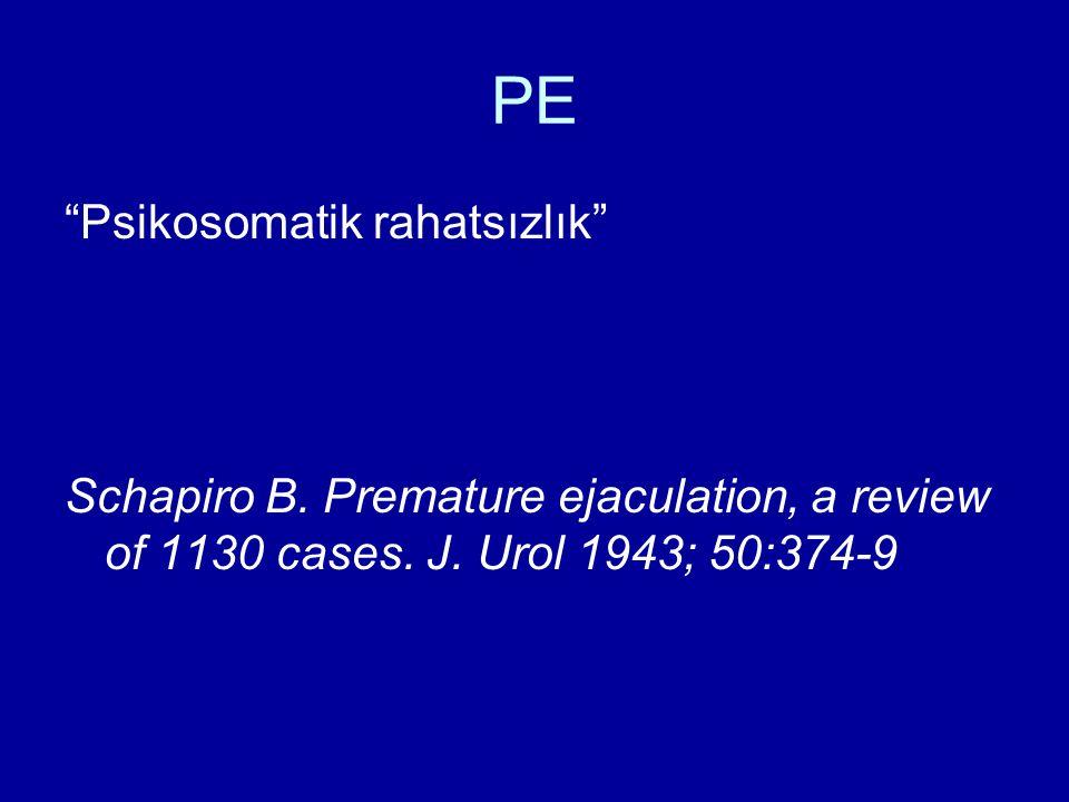 PE Psikosomatik rahatsızlık