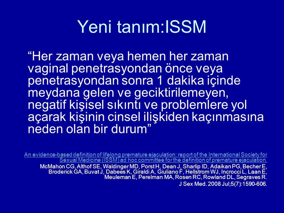 Yeni tanım:ISSM