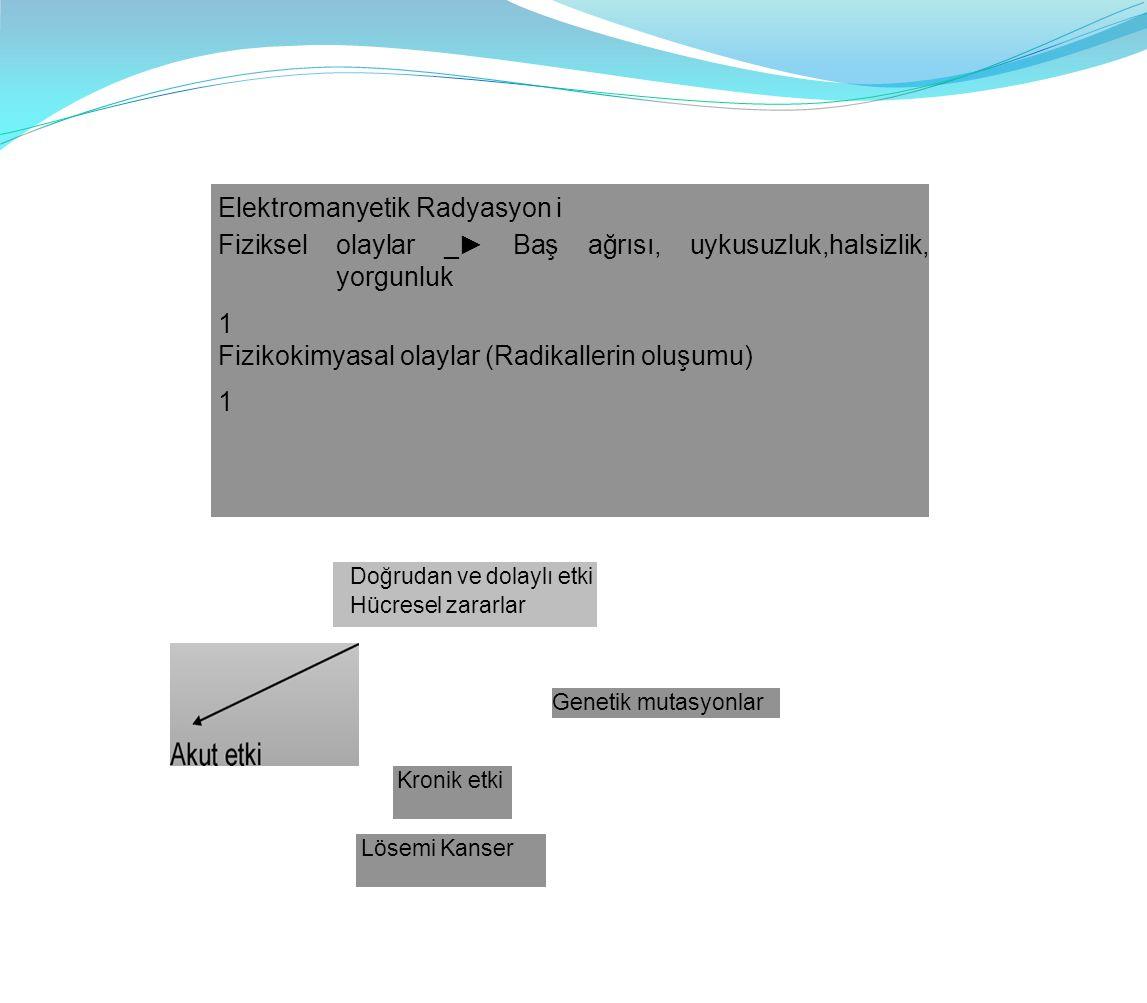 Elektromanyetik Radyasyon i