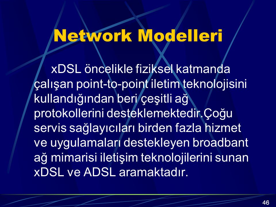 Network Modelleri