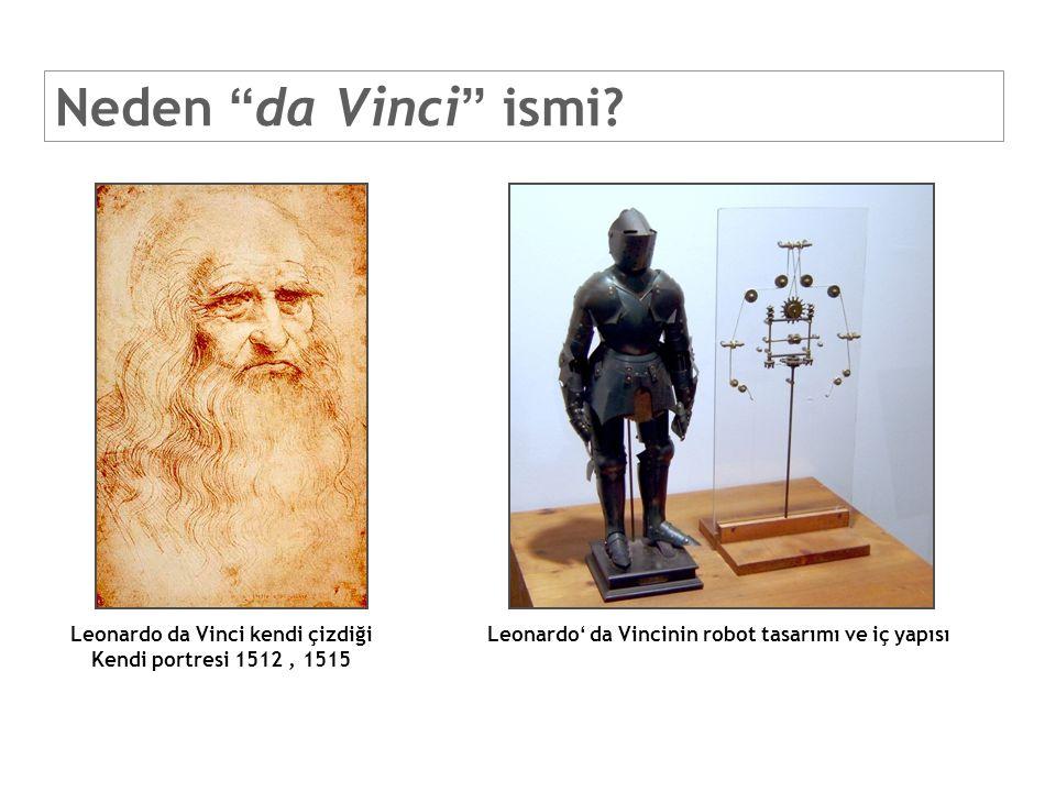 da Vinci Standart da Vinci Sisyem - 1999 MIT – ilk dizayn