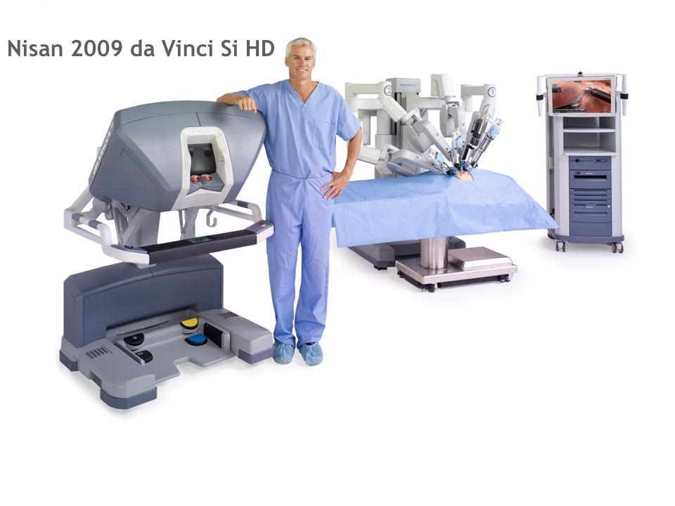 da Vinci® Sistemin ilerlemesi