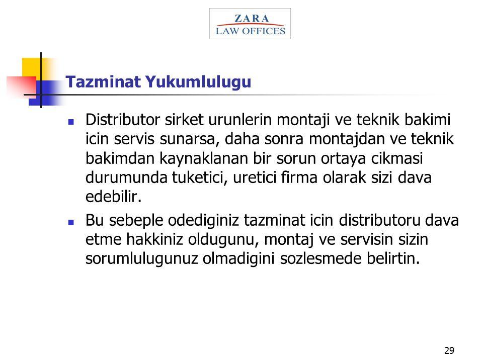 Tazminat Yukumlulugu