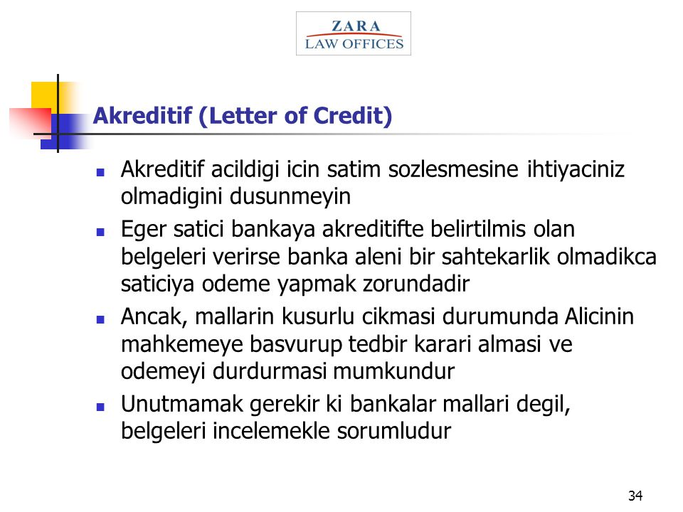Akreditif (Letter of Credit)