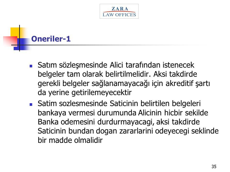 Oneriler-1