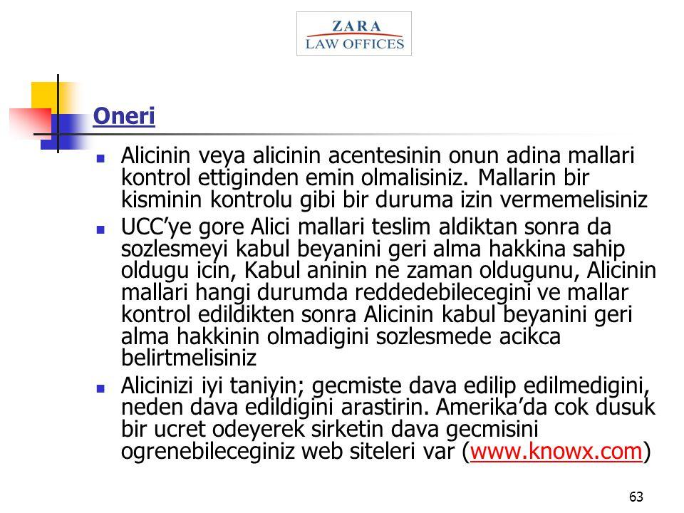 Oneri