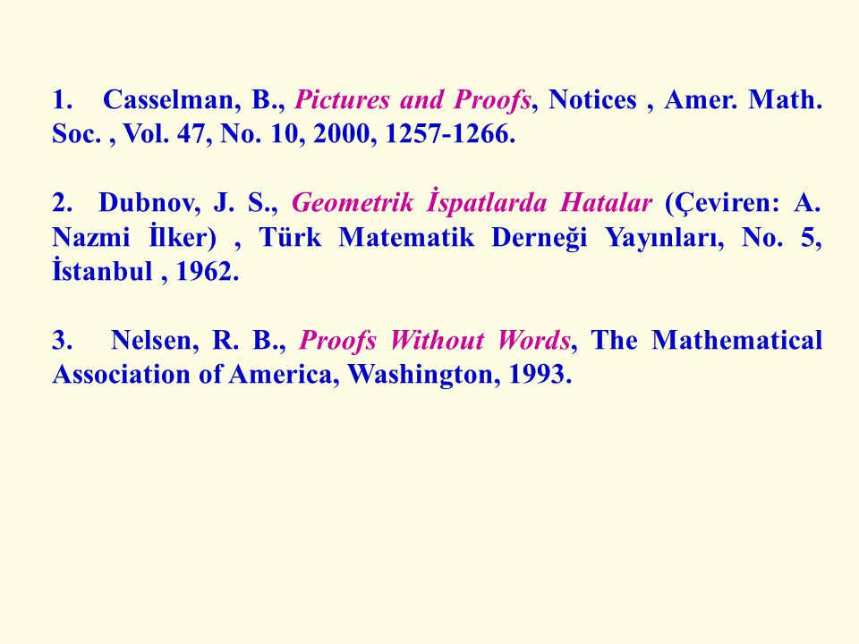 1. Casselman, B. , Pictures and Proofs, Notices , Amer. Math. Soc