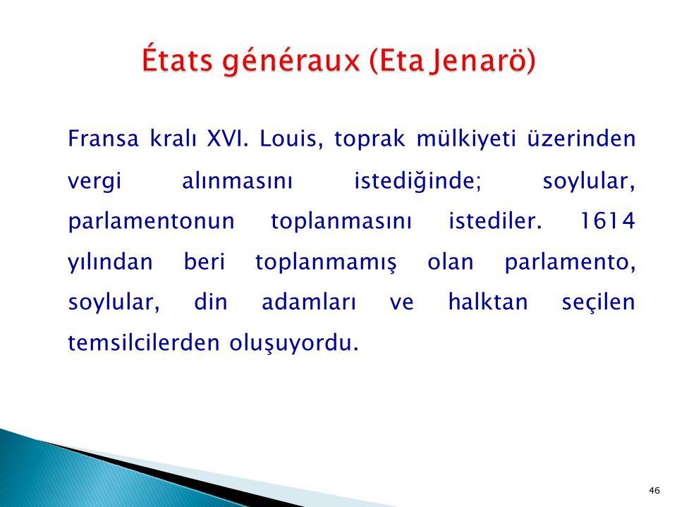 États généraux (Eta Jenarö)