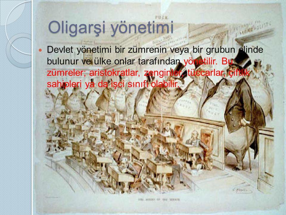 Oligarşi yönetimi