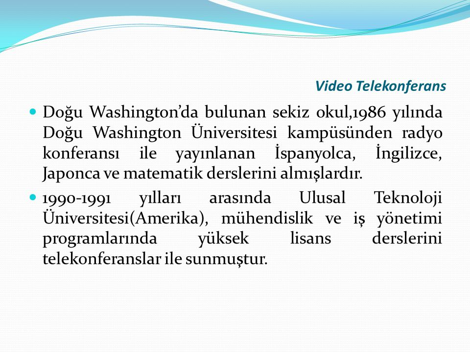 Video Telekonferans