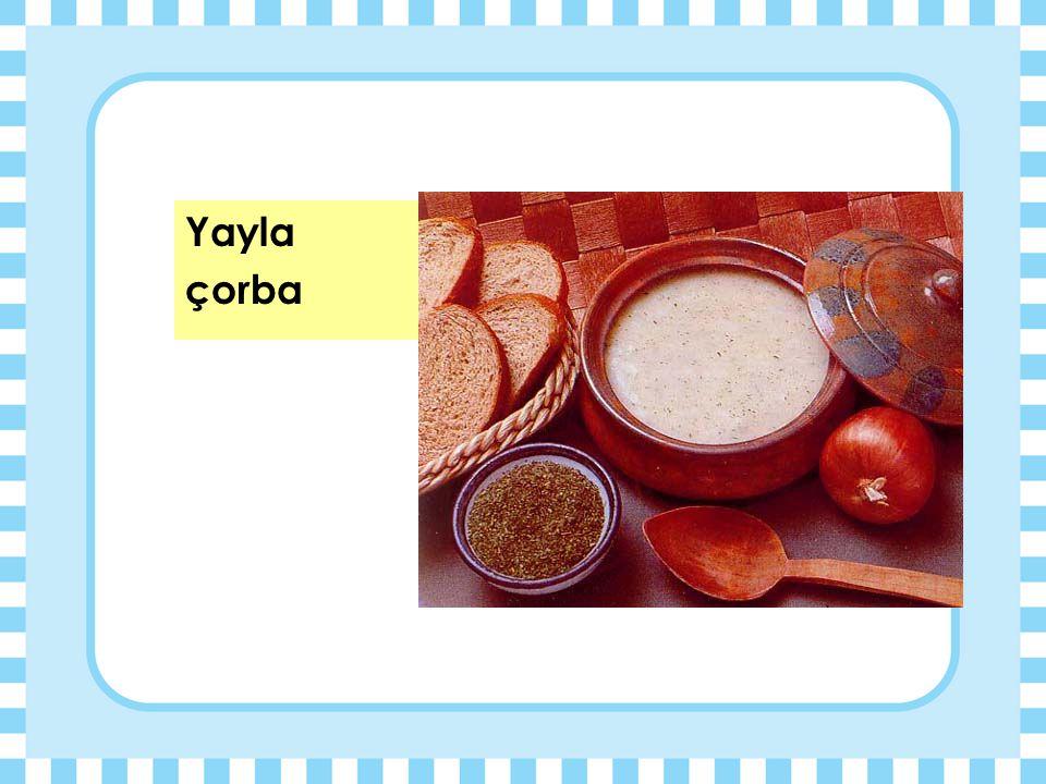 Yayla çorba