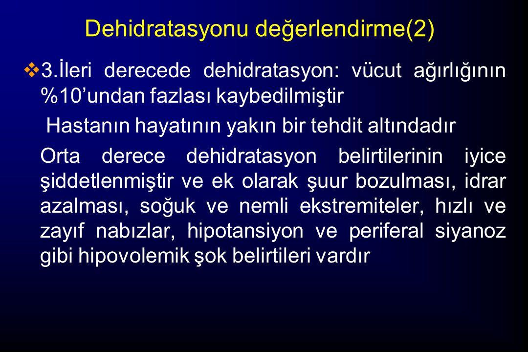 Dehidratasyonu değerlendirme(2)