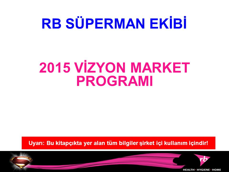 2015 VİZYON MARKET PROGRAMI