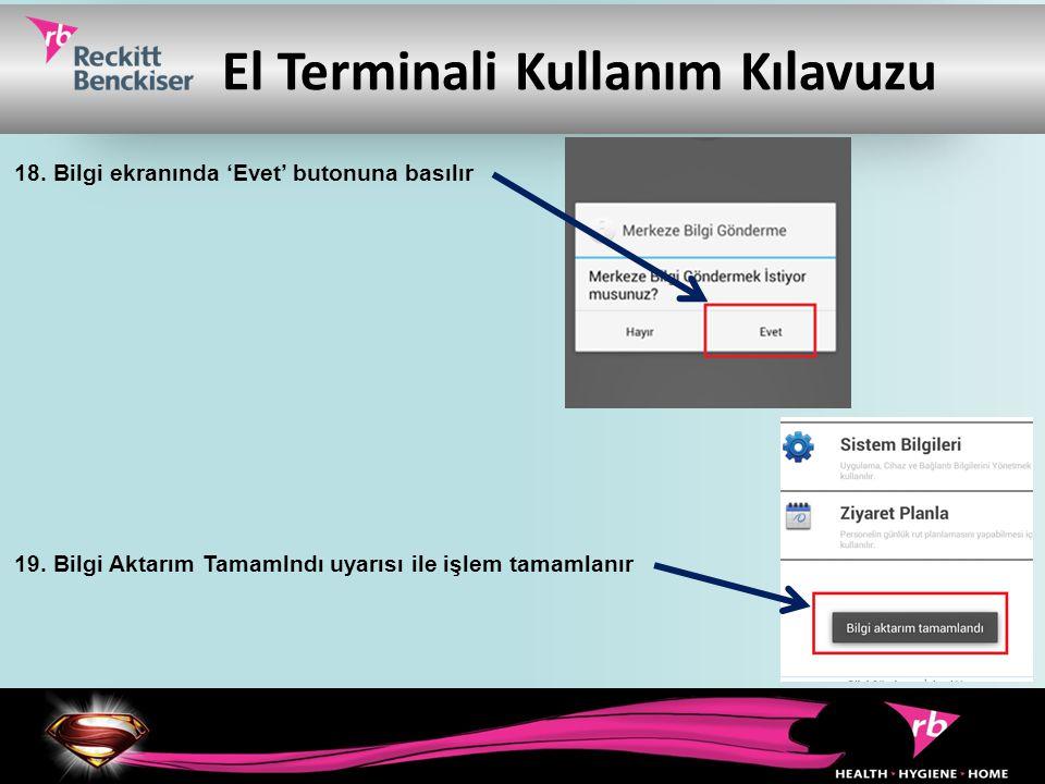 El Terminali Kullanım Kılavuzu