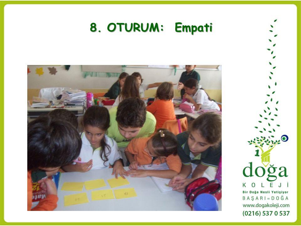 8. OTURUM: Empati