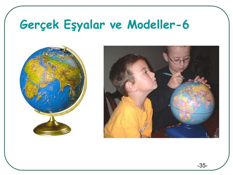 Gerçek Eşyalar ve Modeller-6