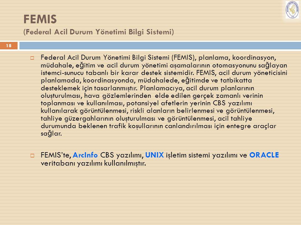 FEMIS (Federal Acil Durum Yönetimi Bilgi Sistemi)