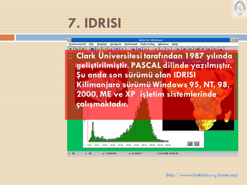 7. IDRISI