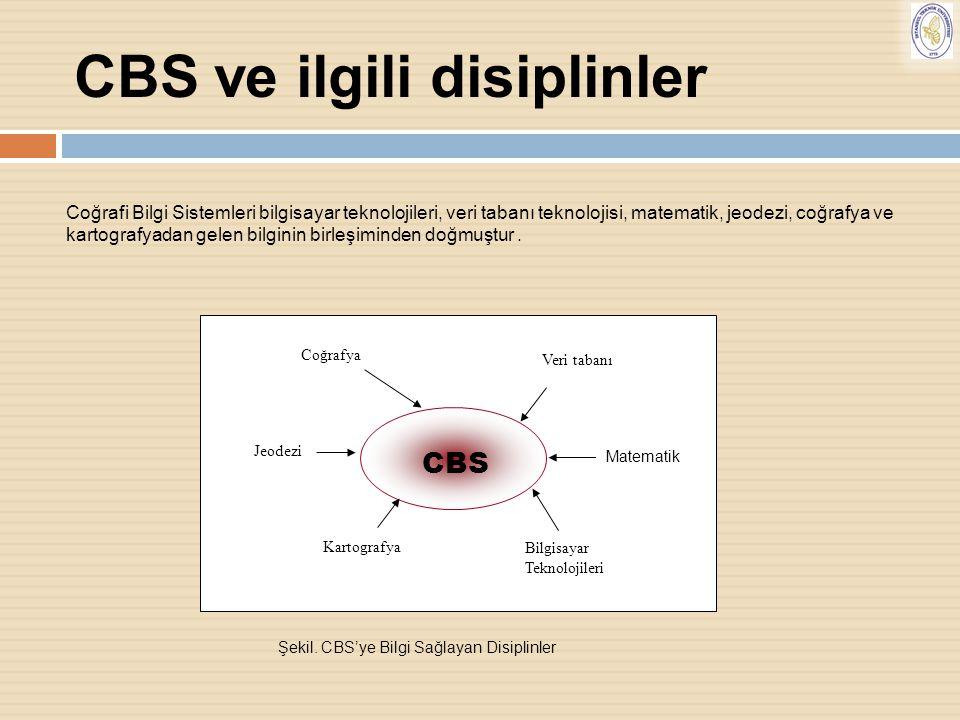 CBS ve ilgili disiplinler