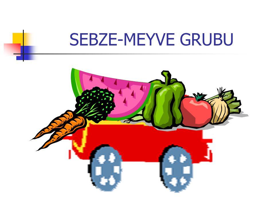 SEBZE-MEYVE GRUBU