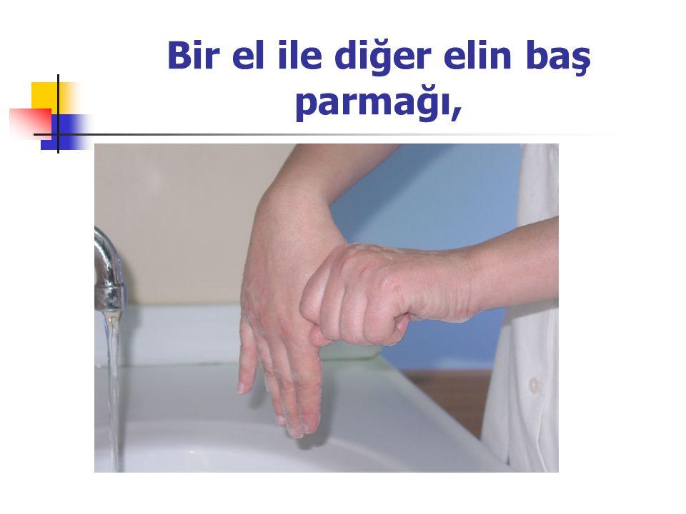 Bir el ile diğer elin baş parmağı,