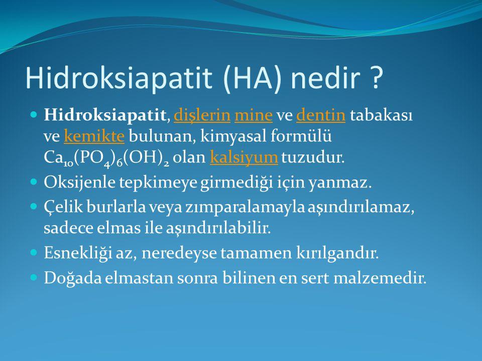 Hidroksiapatit (HA) nedir
