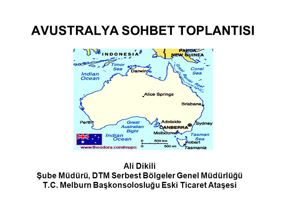 AVUSTRALYA SOHBET TOPLANTISI